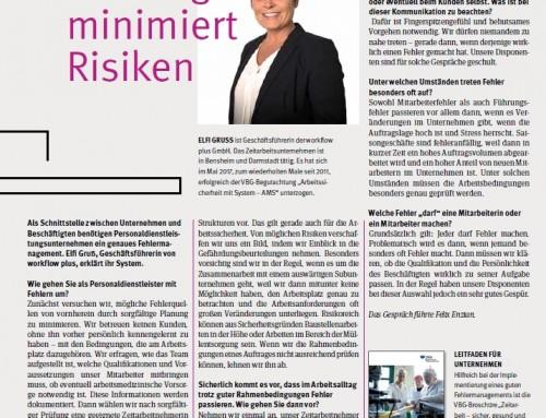 Pressebericht Certo 01/2018